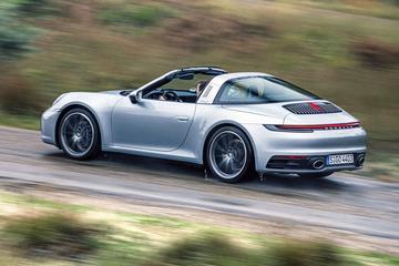 Porsche 911 Targa 4 - Rij-impressie