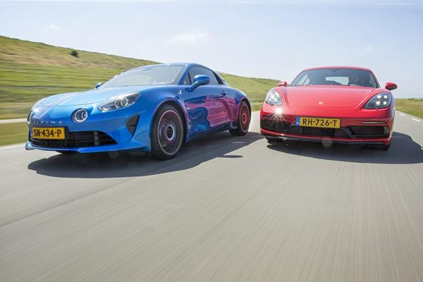 alpine a110 vs. porsche 718 cayman