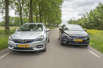 Opel Astra Sports Tourer - Peugeot 308 SW - Dubbeltest