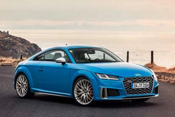 Audi TTS facelift gelekt