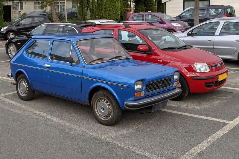 Fiat 127 In het Wild