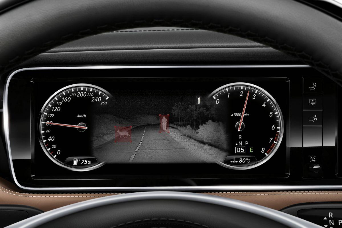 Mercedes-Benz S-klasse Night Vision