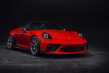 Porsche 911 Speedster in productie