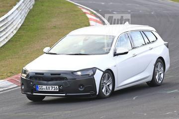 Gesnapt: gefacelifte Opel Insignia