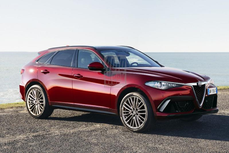 Blik to the Future: Alfa Romeo's grote SUV