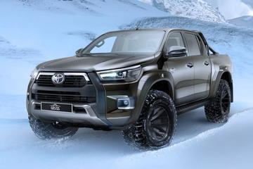 Geen berg te hoog voor Toyota Hilux AT35
