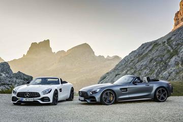 Mercedes-AMG GT C Roadster en GT Roadster onthuld