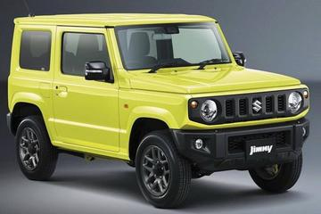 Suzuki presenteert hagelnieuwe Jimny