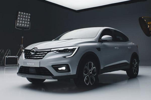 Samsung SM3 is een verbouwde Renault