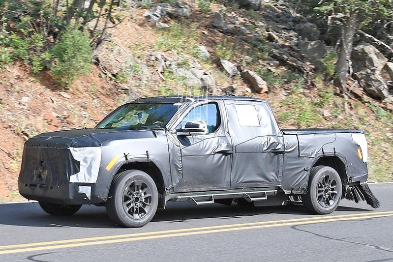 Spyshots Toyota Tundra