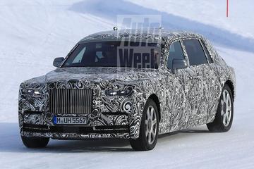 Opnieuw in beeld: nieuwe Rolls-Royce Phantom