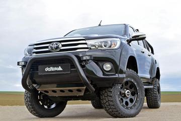 Nog hoger: Toyota Hilux van Delta