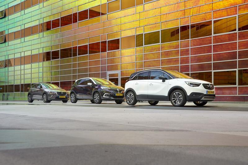 Mazda CX-3 Skyactiv - Opel Crossland X - Renault Captur