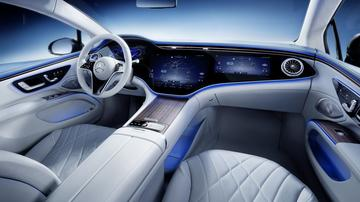 Mercedes-Benz EQS vanbinnen