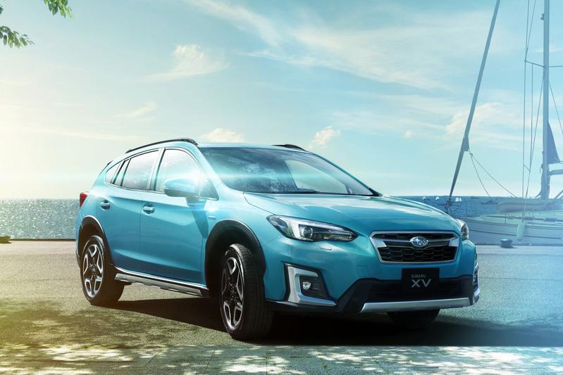 Subaru XV e-Boxer Hybrid onthuld