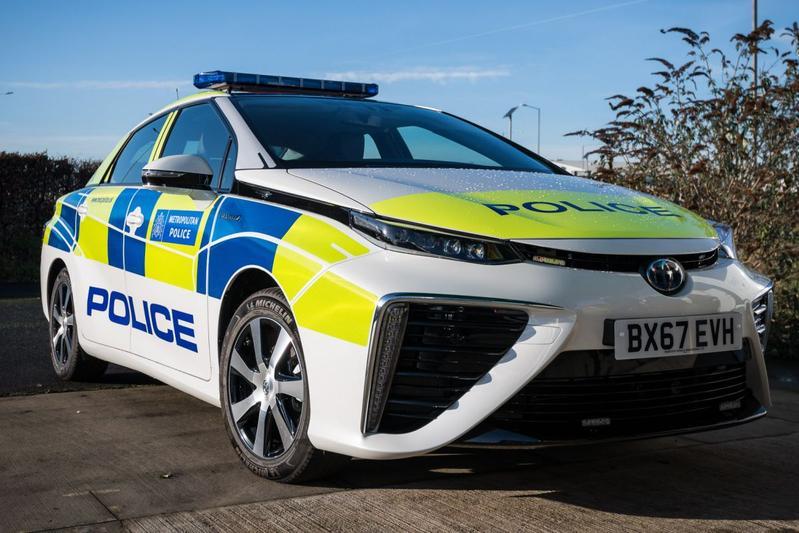 Politie Londen kiest voor Toyota Mirai
