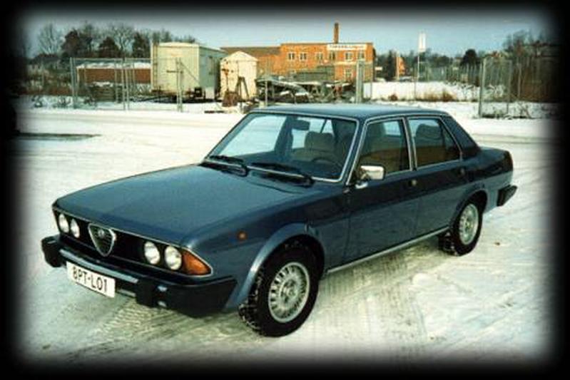 Alfa Romeo Alfa 6 2.5 V6 (1982)