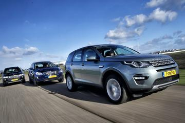 Land Rover Discovery Sport - BMW X3 - Volvo XC60