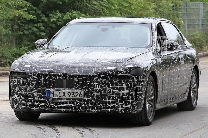 Spyshots BMW 7-serie