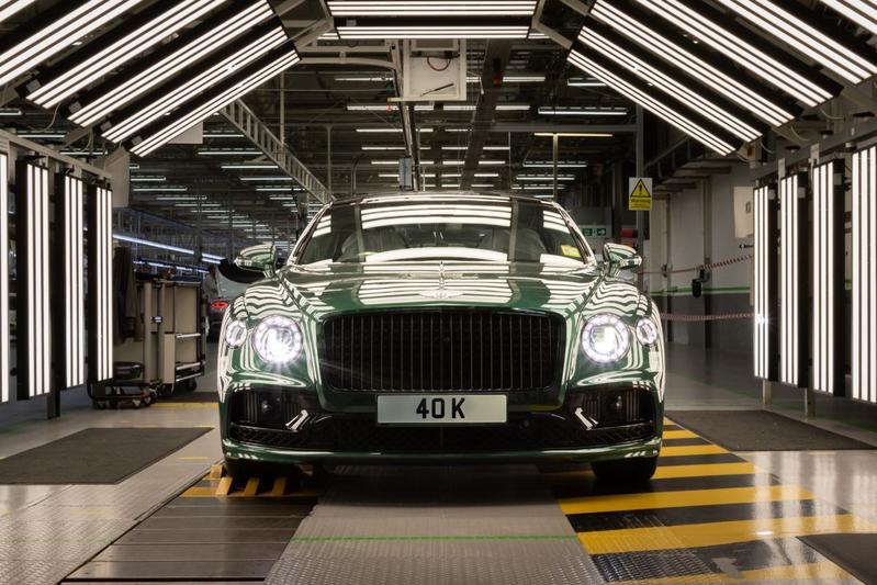 Bentley Flying Spur productie