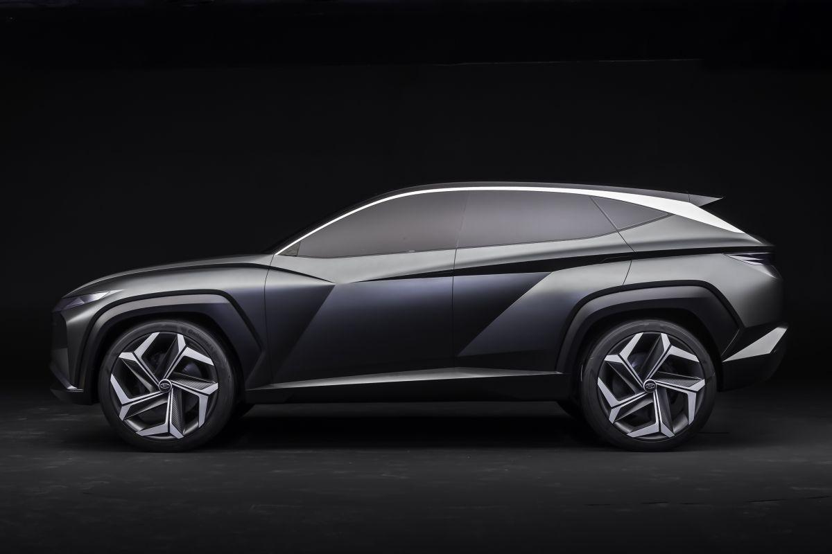 Hyundai PHEV SUV Concept (Los Angeles 2019) 28
