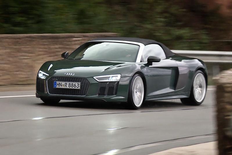 Audi R8 Spyder - Rij-impressie