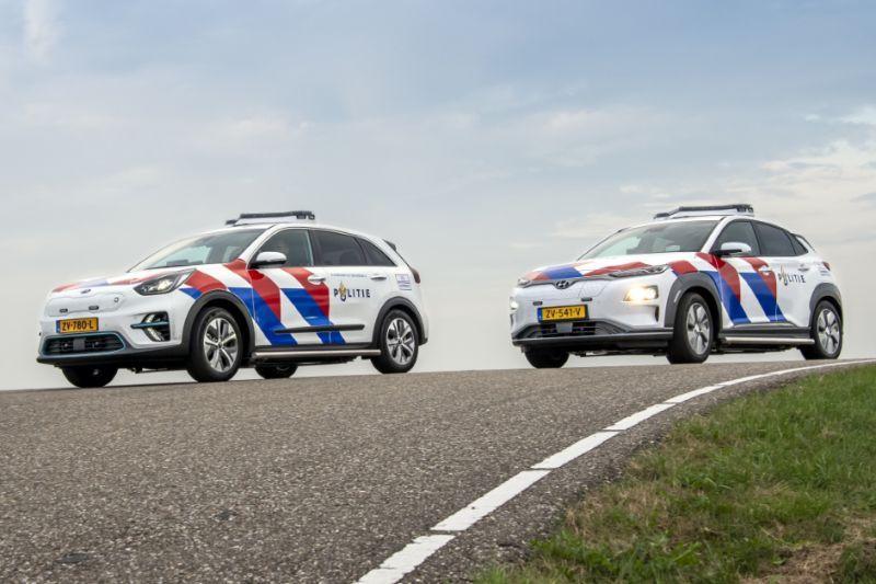 Politie-auto 112 Kia e-Niro Motor