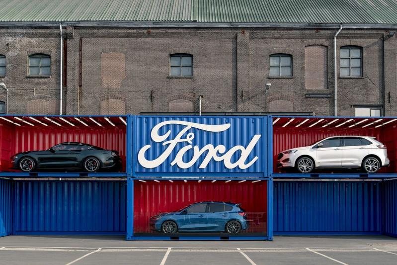 Ford modellen logo