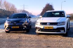 Toyota C-HR vs. Volkswagen Tiguan - Dubbeltest