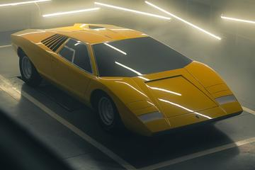 Lamborghini Countach LP 500 herboren