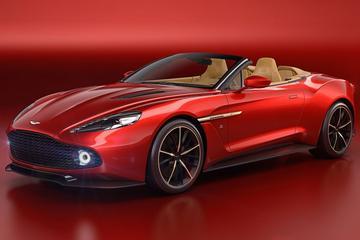 Aston Martin Vanquish Zagato Volante onthuld