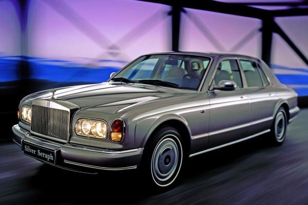 De Tweeling: Bentley Arnage - Rolls-Royce Silver Seraph