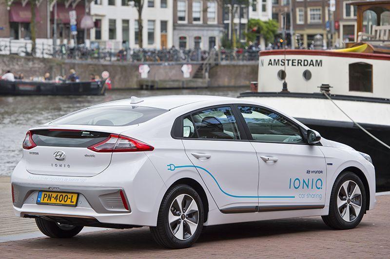 Hyundai Ioniq autodeelprogramma Amsterdam