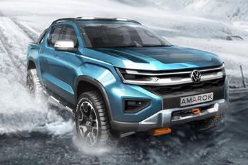 Nieuwe Volkswagen Amarok en Multivan te zien
