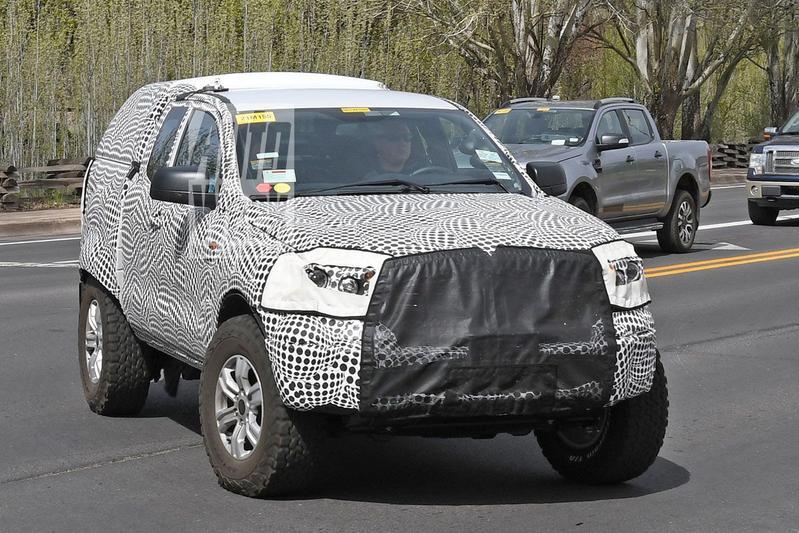 Ford Bronco mule teaser