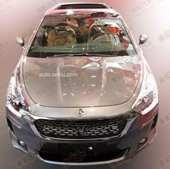 Facelift Citroën DS5 duikt op in China