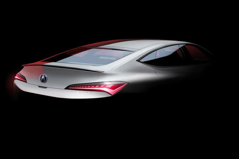 Acura Honda Integra teaser