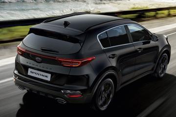 Duister voordeel: Kia Sportage Black Edition