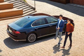 Volkswagen Phideon aangescherpt