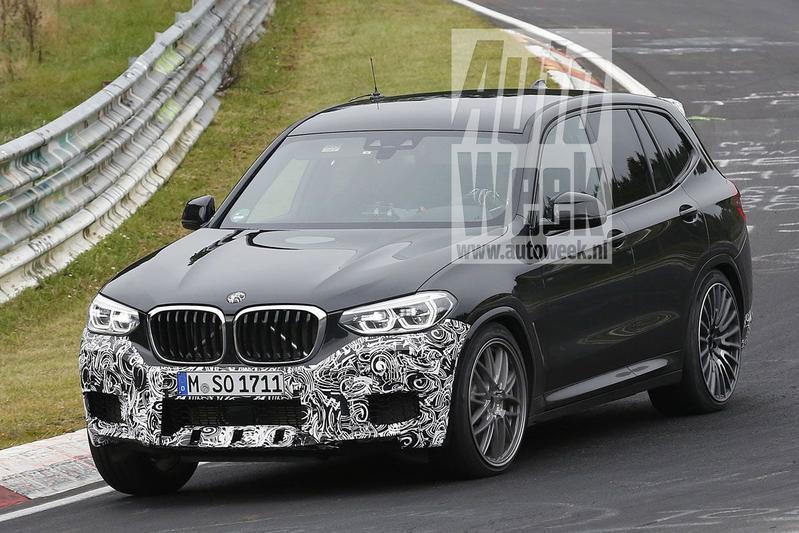 Gesnapt: BMW X3 'M'