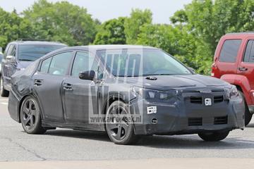 Geheel nieuwe Subaru Legacy onderweg ...