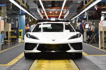 Productiemijlpaal voor Chevrolet Corvette