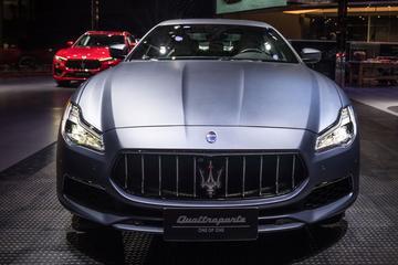 Maserati met bijzondere Quattroporte naar Sjanghai