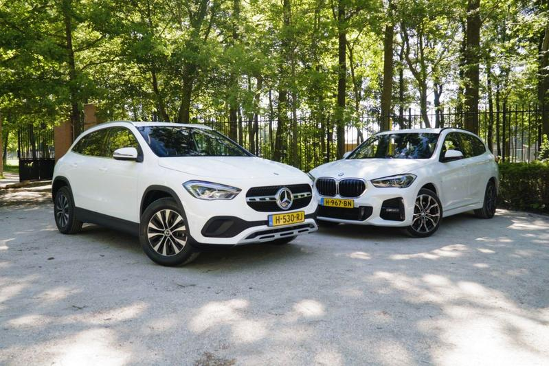 Mercedes-Benz GLA vs. BMW X1 - Dubbeltest