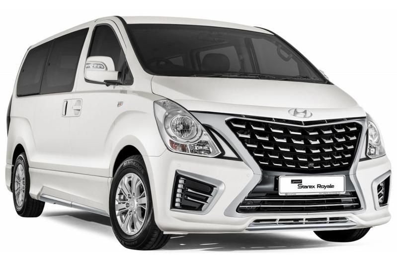 Over de grens: Hyundai Starex Royale gefacelift