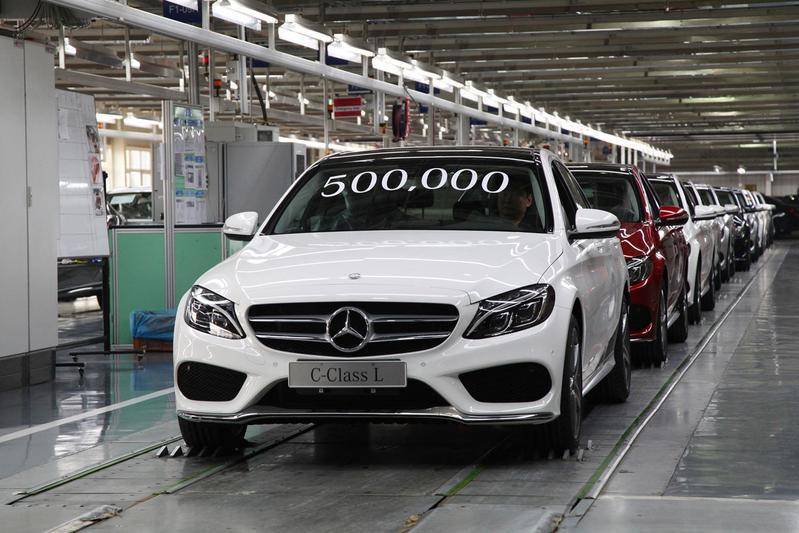 Mercedes productie China