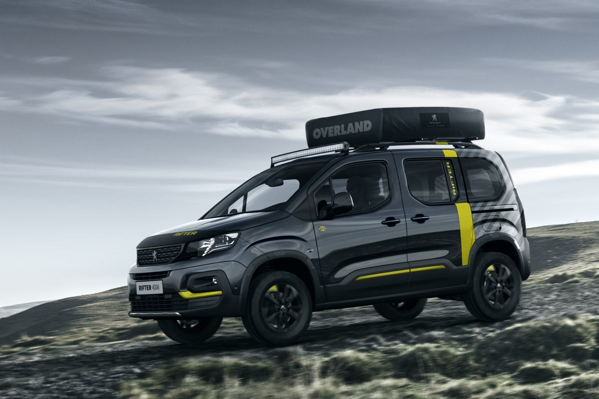 peugeot rifter 4x4 concept is los autonieuws. Black Bedroom Furniture Sets. Home Design Ideas