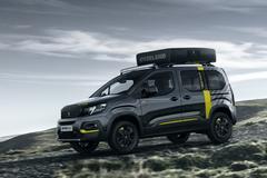 Peugeot Rifter 4x4 Concept is los