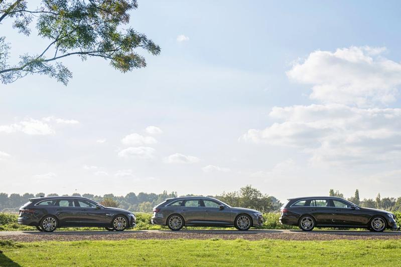Audi A6 - Jaguar XF - Mercedes-Benz E-klasse