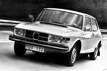 Waarom Saab jarenlang motoren gekanteld plaatste